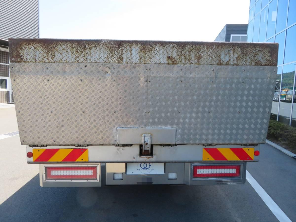 UDトラックス クオン4軸低床 セルフローダー ハイルーフカスタム