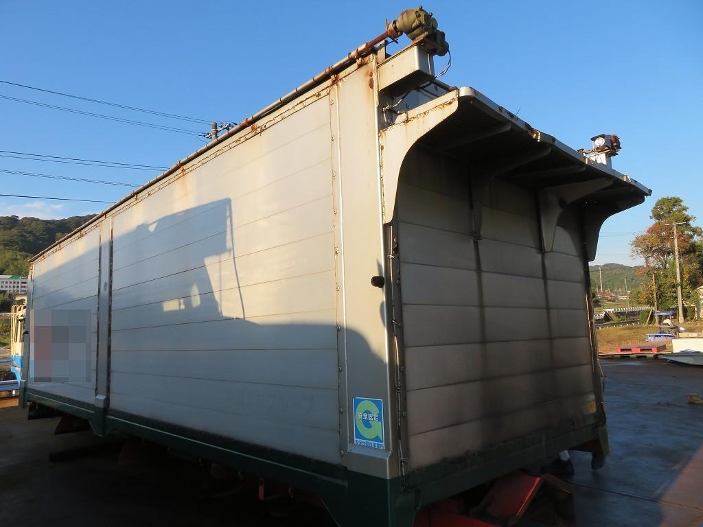 深ダンプ ホイストダンプシャーシ付き チップ運搬車