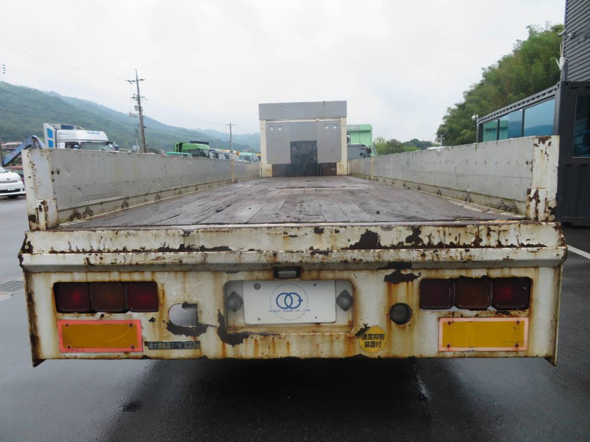 三菱ふそう スーパーグレート ハイジャッキ 運搬車