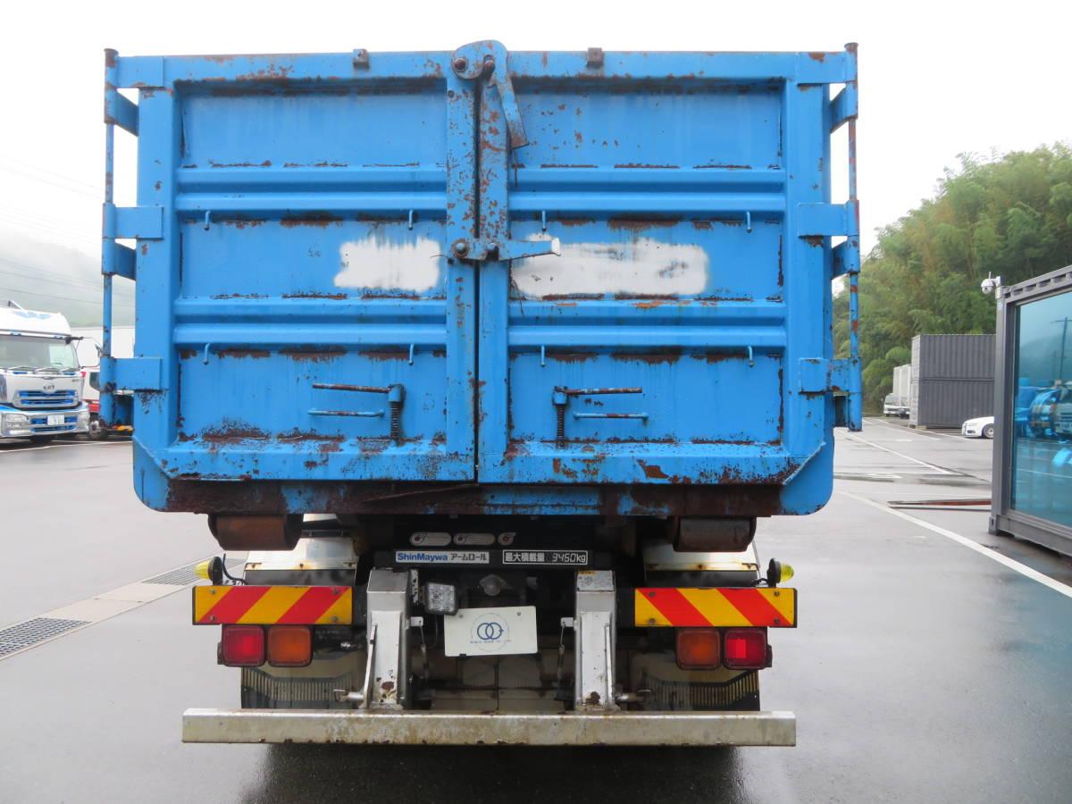 UDトラックス コンドル 脱着装置付コンテナ専用車