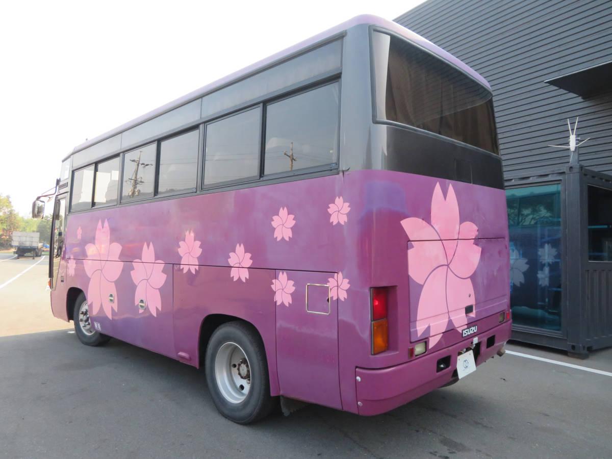 いすゞ 29人乗り バス