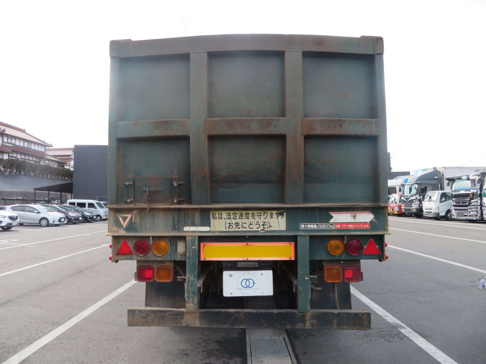 トレールモービル 3軸 セミトレーラ